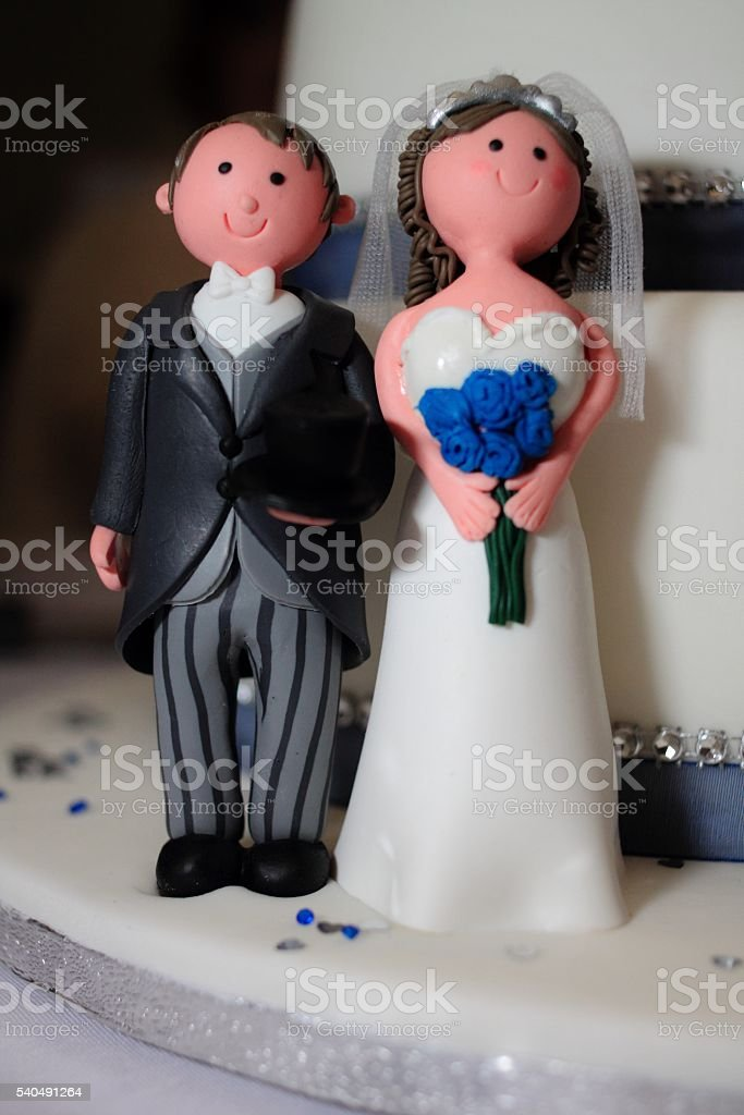 Mr and Mrs. stock photo