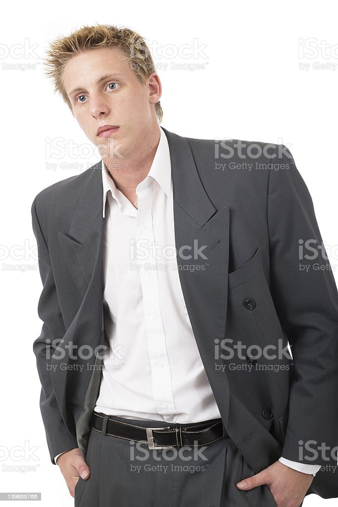 Mr cool suit 1 royalty-free stock photo