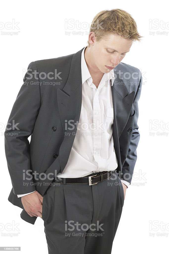Mr cool suit 3 royalty-free stock photo