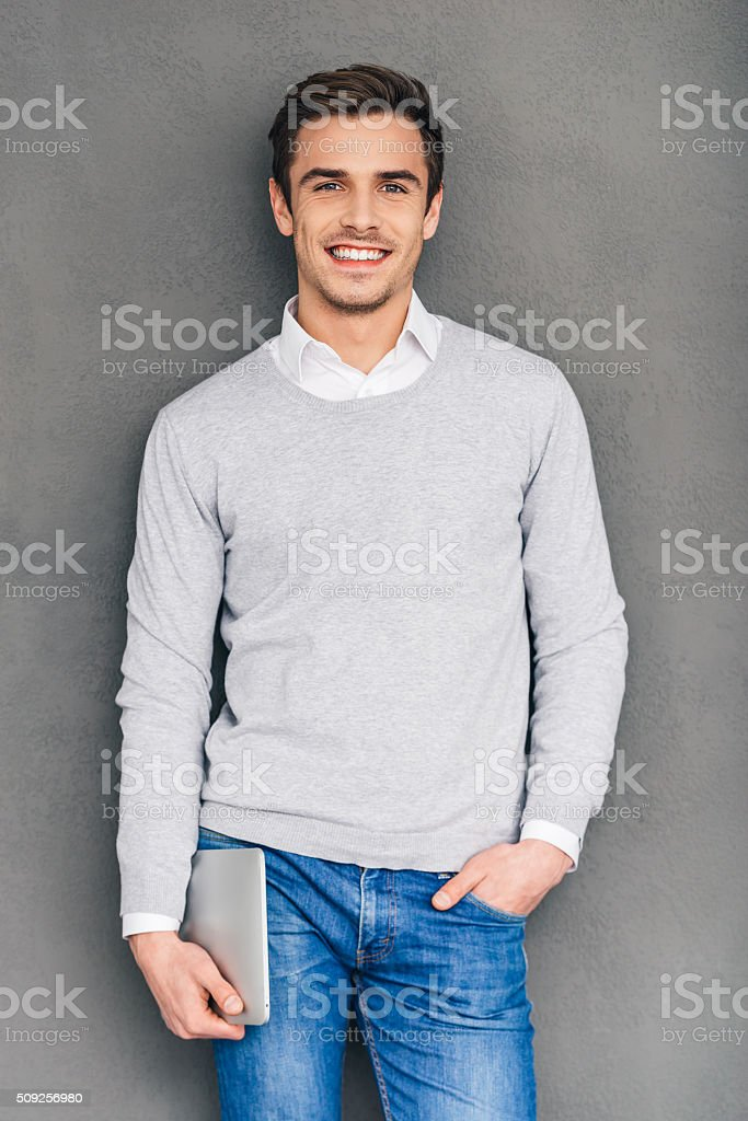 Mr. Expertise. stock photo