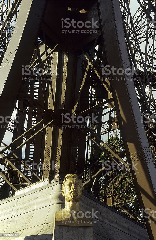 Monsieur Gustave Eiffel stock photo