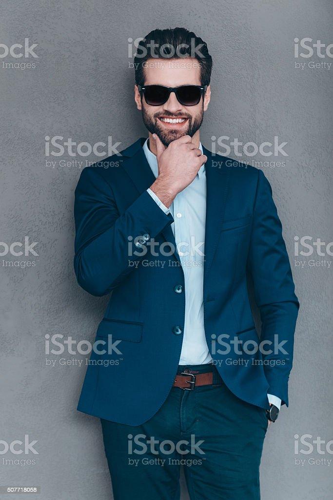 Mr. Handsome. stock photo