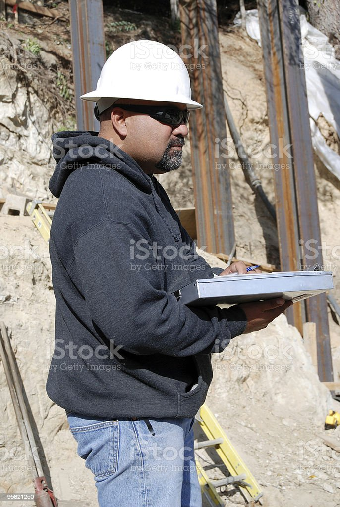 Mr. Inspector royalty-free stock photo