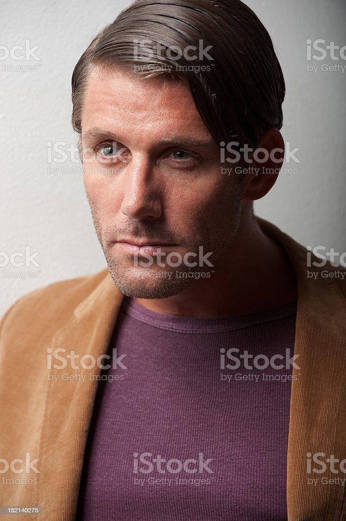 Mr. Johnny stock photo