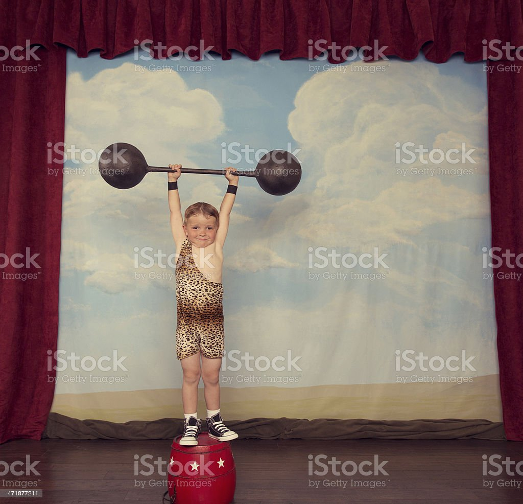 Mr. Muscle royalty-free stock photo