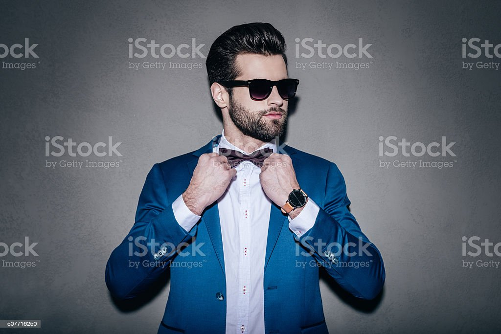 Mr. Perfection. stock photo