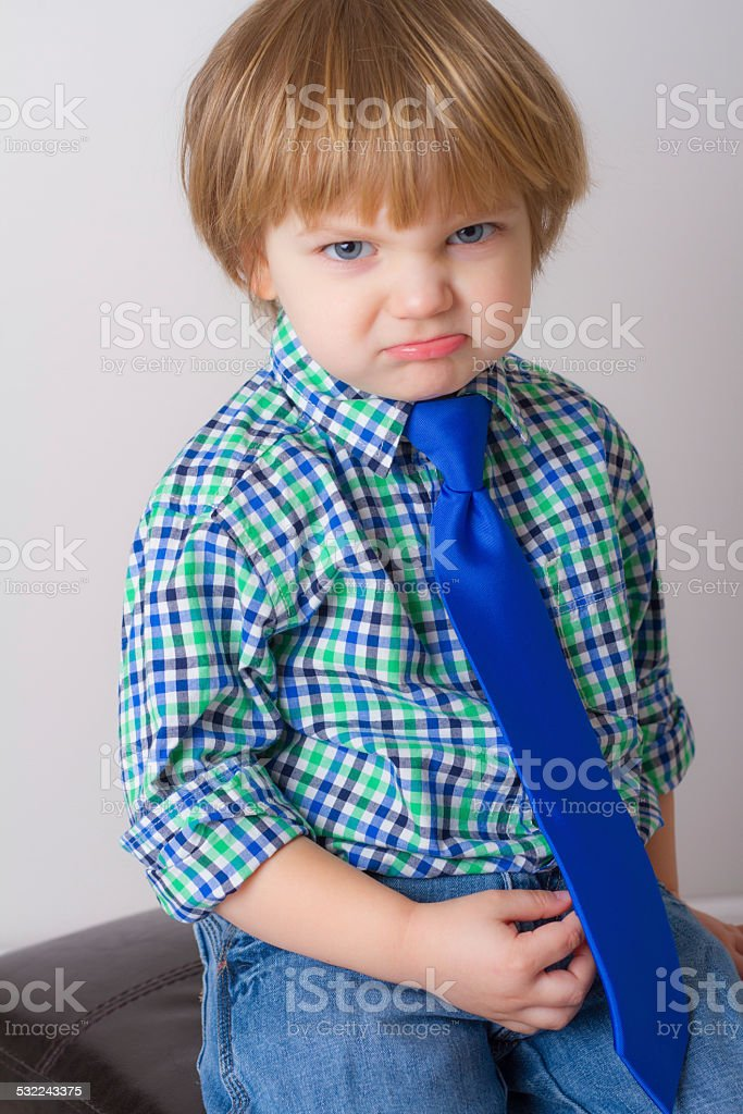 Mr. Personality. What are you looking at?? stock photo