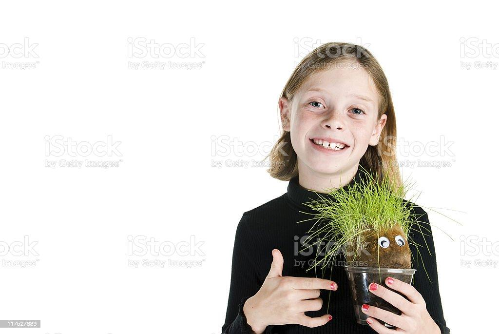 Herr Plant und mich Lizenzfreies stock-foto