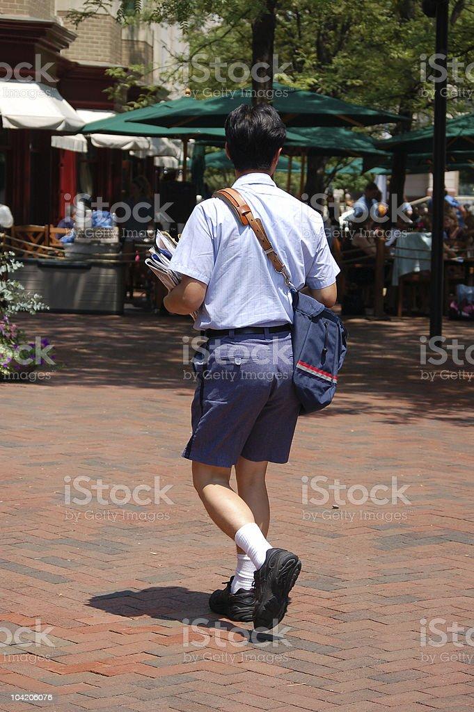 Mr. Postman stock photo