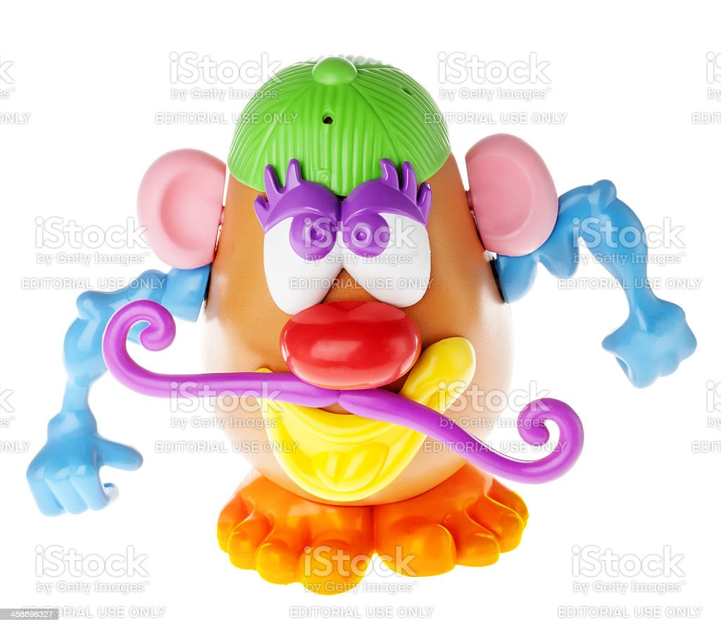 Mr. Potato Head - Douchebag royalty-free stock photo