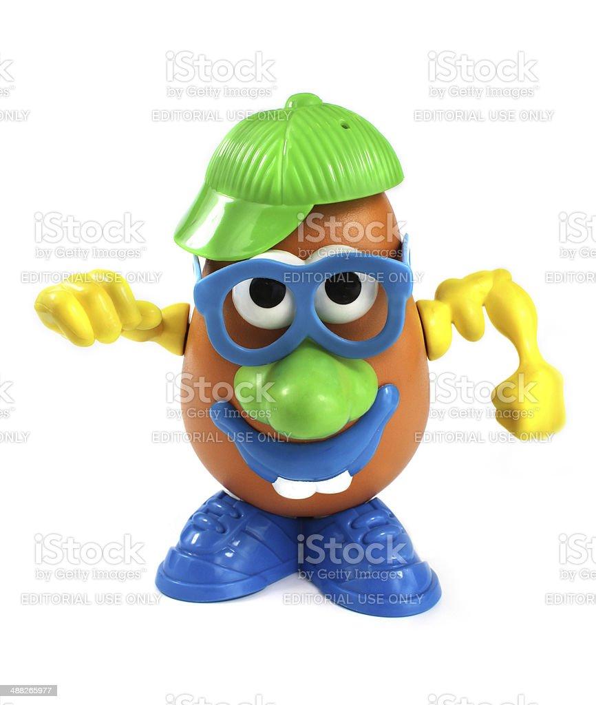 Mr Potato Head Toy from Hasbro stock photo