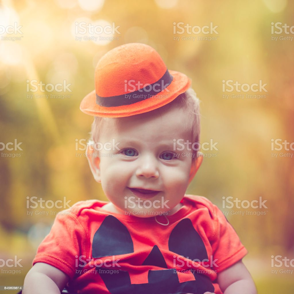 Mr Pumpkin stock photo