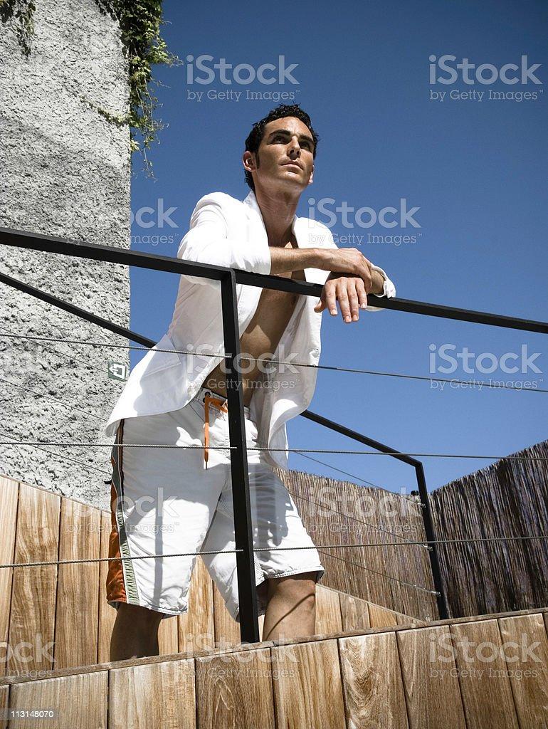 Mr. Summertime stock photo