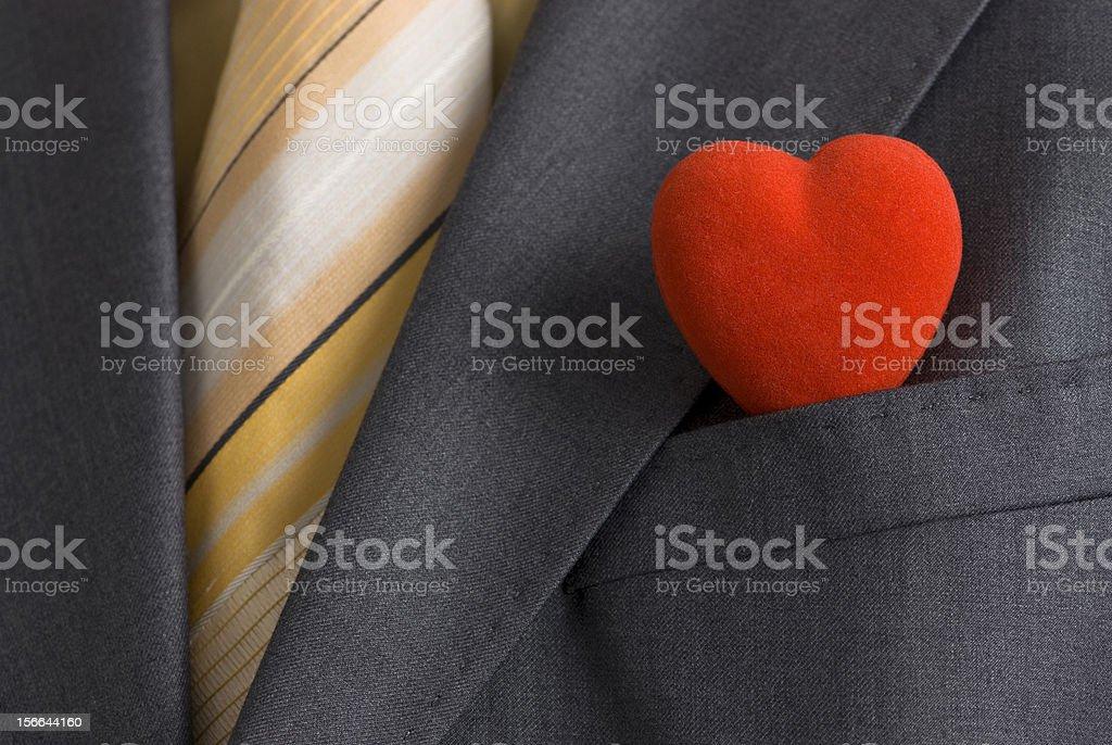 Mr. Valentine royalty-free stock photo