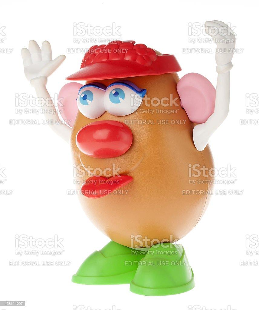 Mrs. Potato Head - Cheeky Cheer royalty-free stock photo