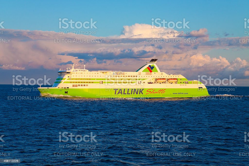 M/s 'Star' (Tallink) bounding from Tallinn to Helsinki royalty-free stock photo