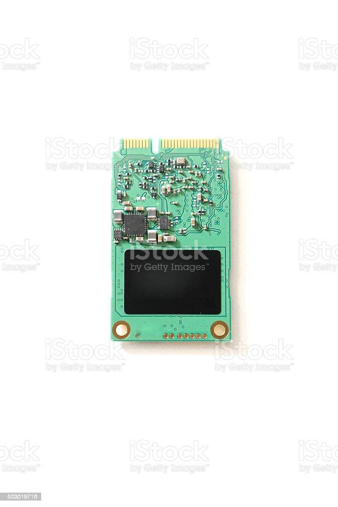 mSATA card stock photo