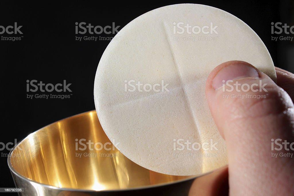 Msza święta stock photo