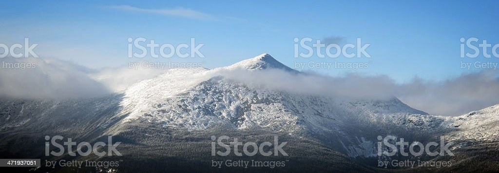 Mt Adams as Seen from Carter Dome (NH) royalty-free stock photo