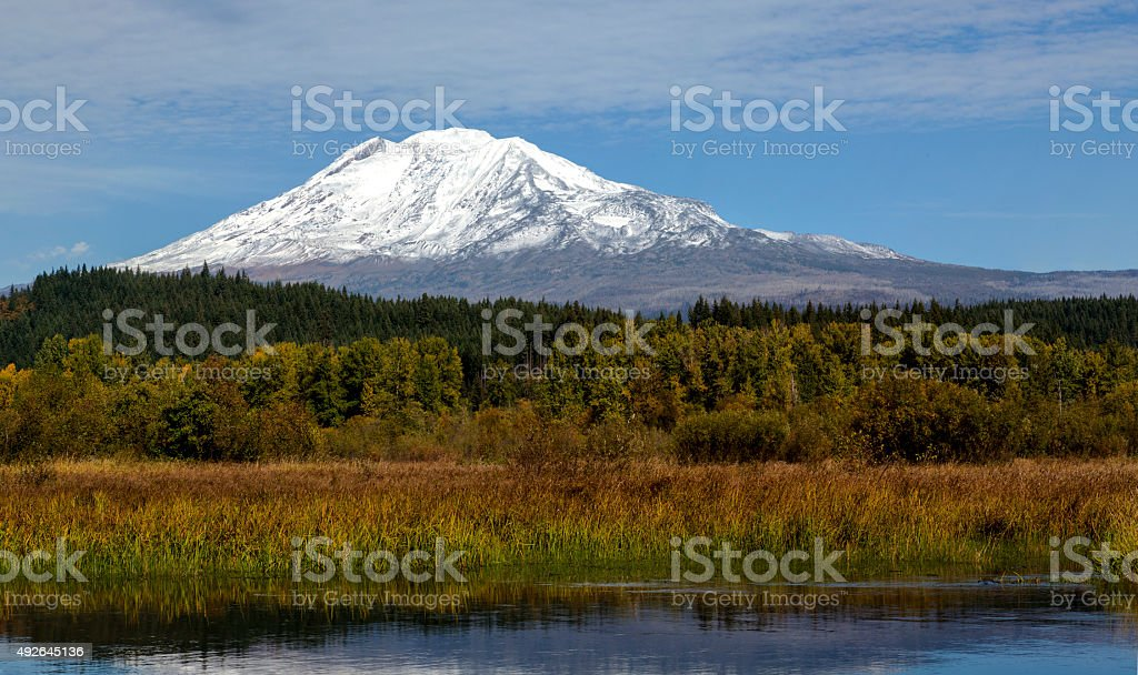 Mt Adams stock photo