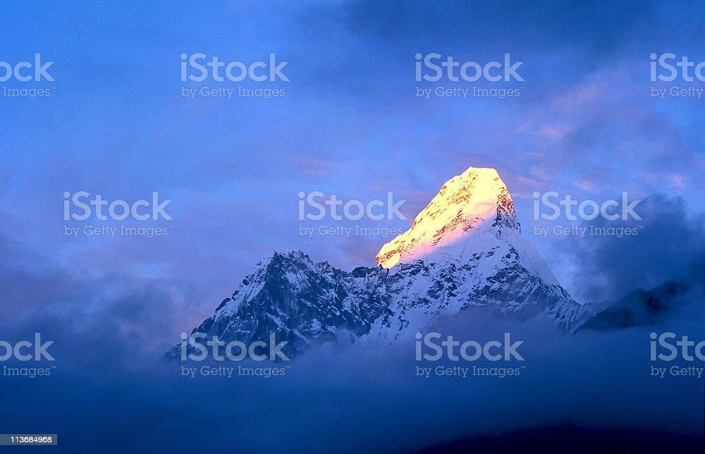 Mt Amadablam royalty-free stock photo