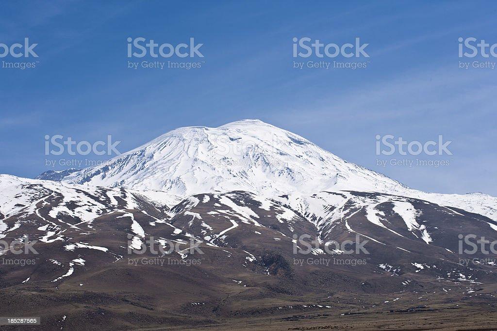 Mt Ararat stock photo