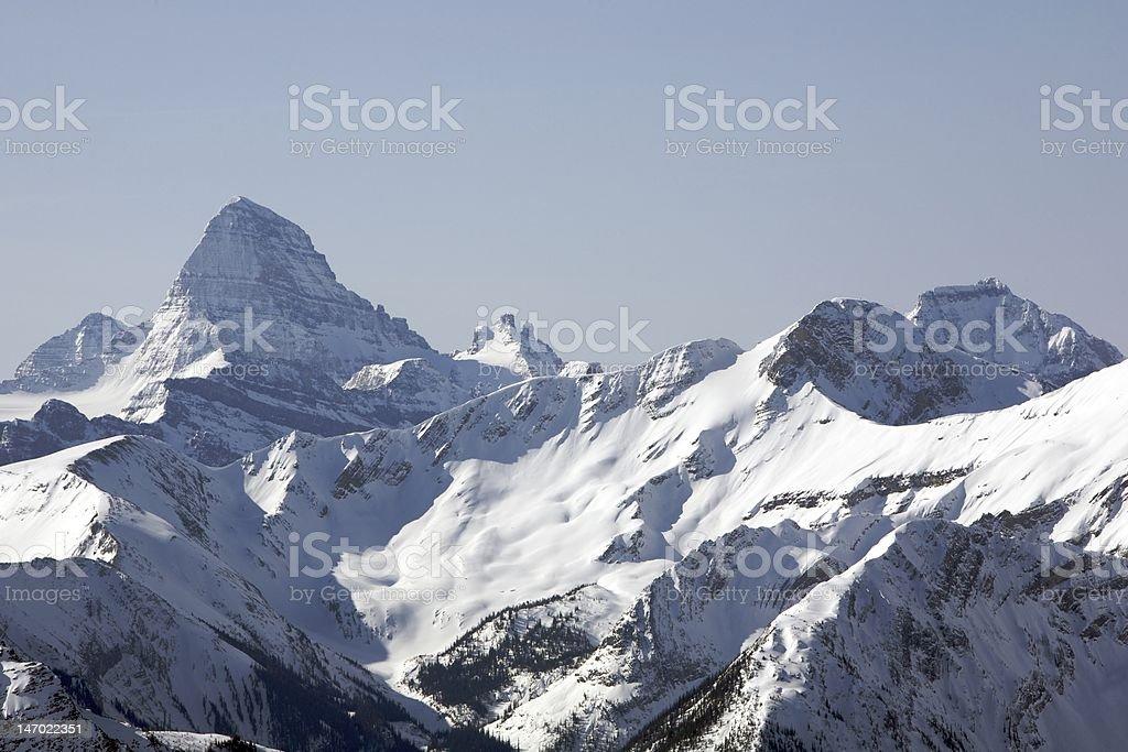 Mt. Assiniboine stock photo