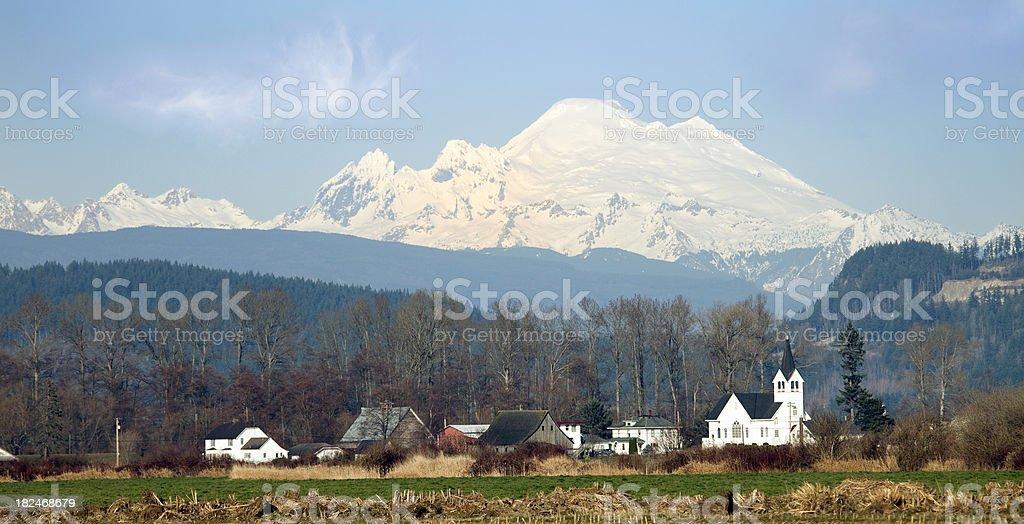 Mt Baker royalty-free stock photo