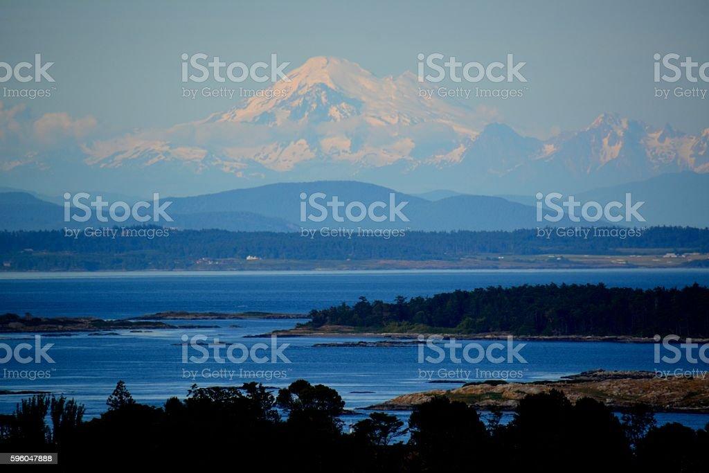 Mt. Baker stock photo