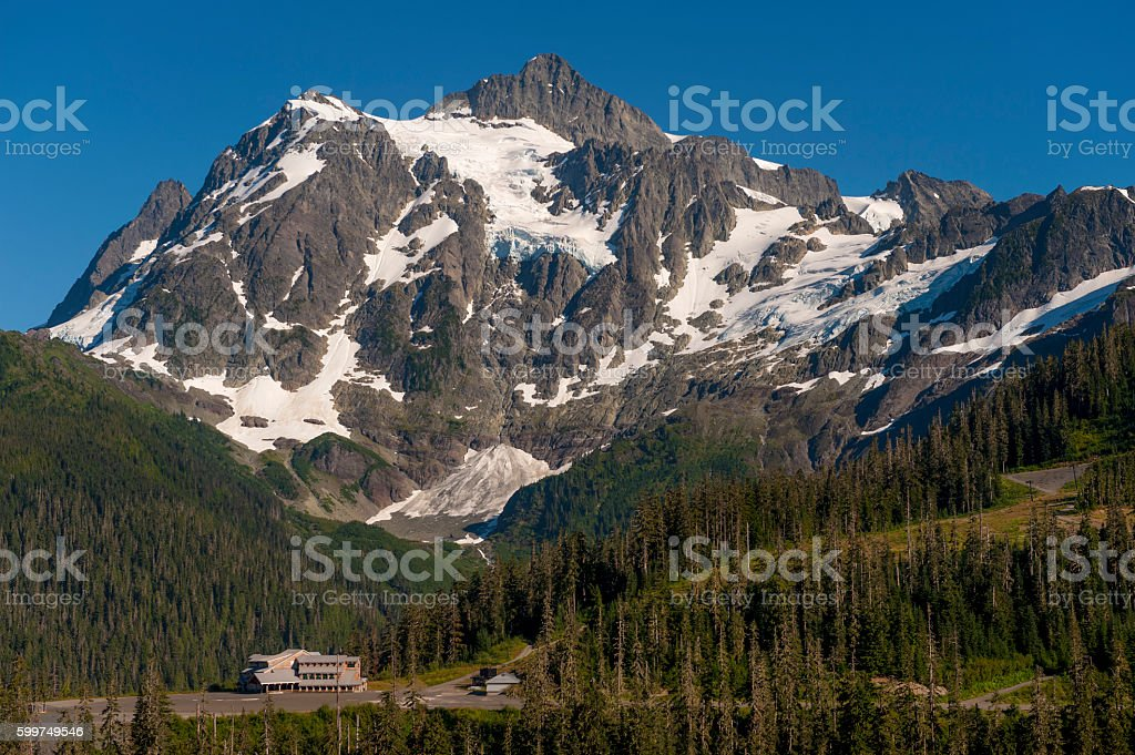 Mt. Baker Ski Area stock photo