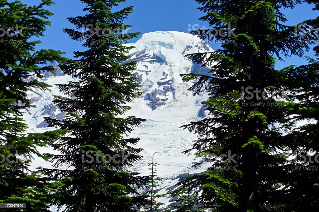 Mt. Baker Stealth stock photo