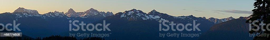 Mt. Baker Wilderness Wide stock photo