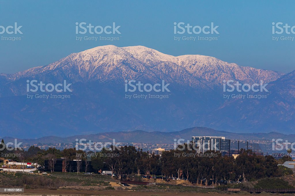 Mt. Baldy stock photo