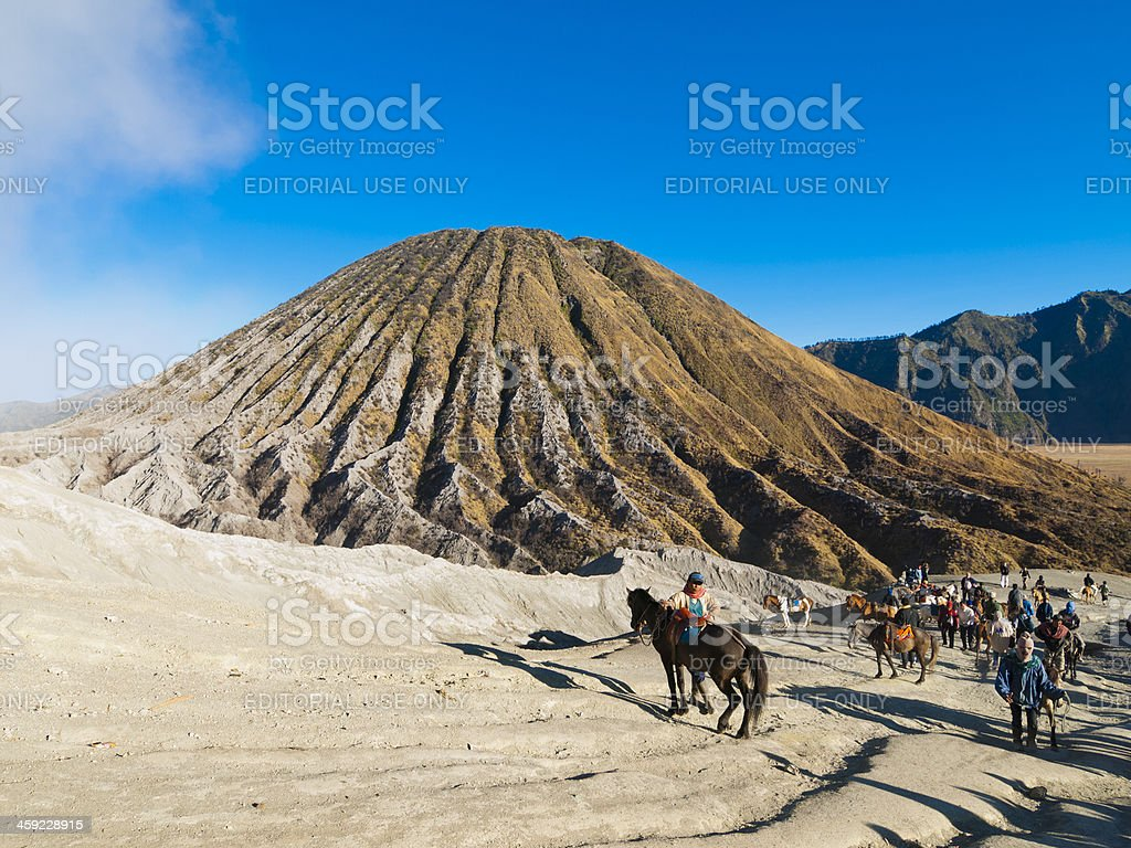 Mt Bromo, Java Island, Indonesia stock photo