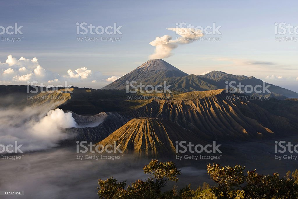 Mt. Bromo royalty-free stock photo