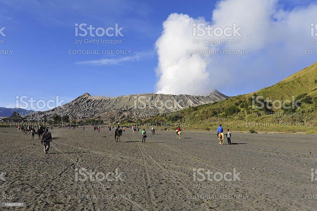 Mt. Bromo stock photo