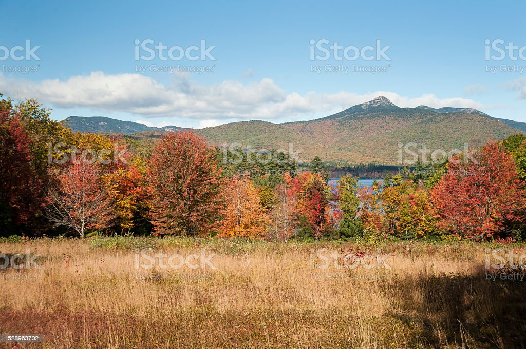 Mt. Chocorua landscape stock photo