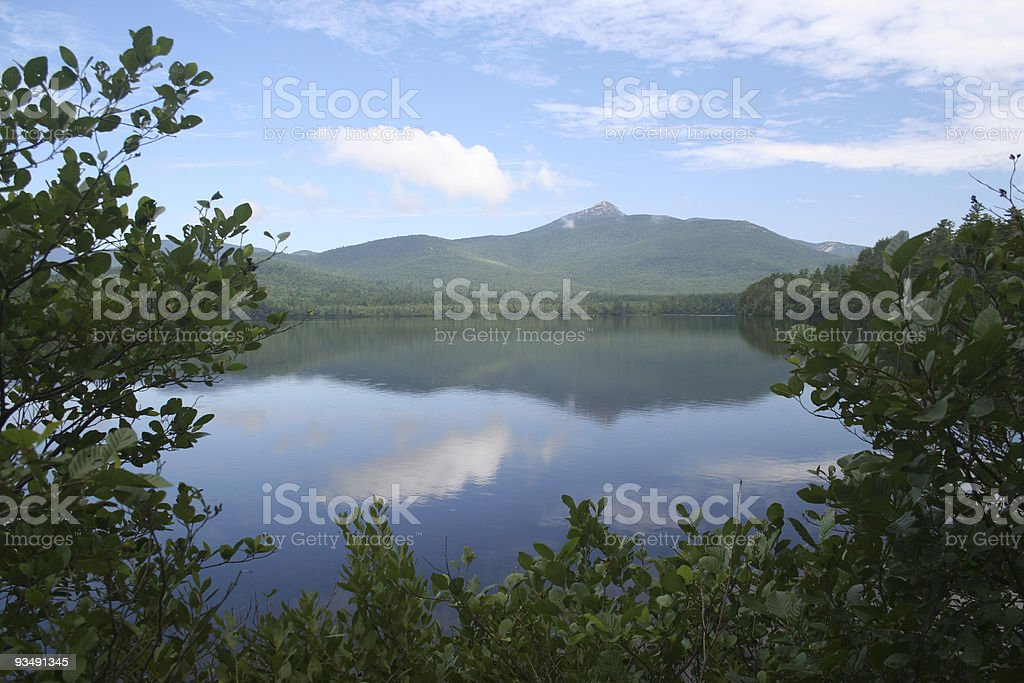 Mt. Chocorua stock photo