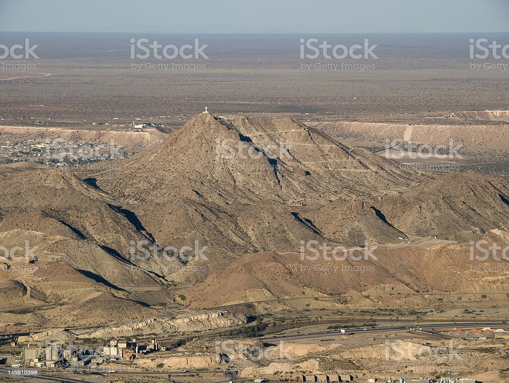 Mt Cristo Rey royalty-free stock photo