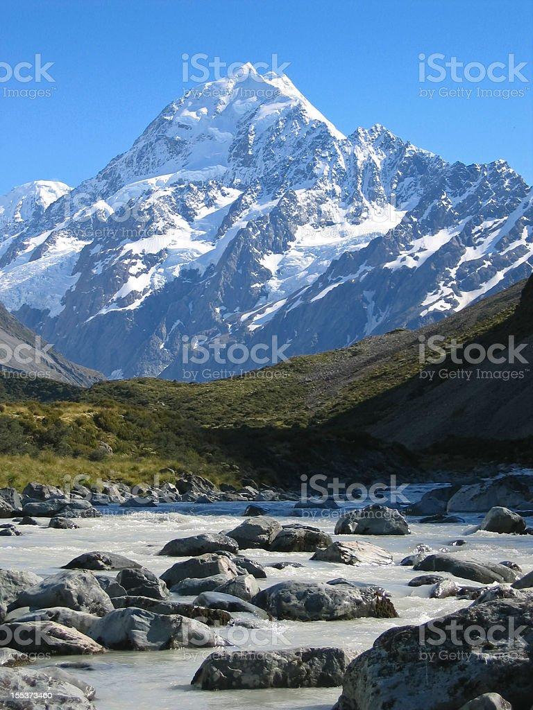 Mt. Cook stock photo