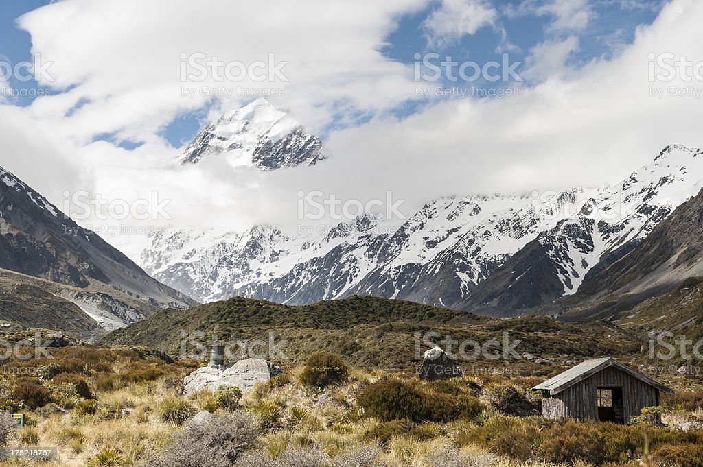 Mt Cook royalty-free stock photo