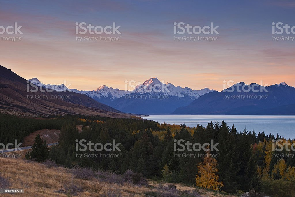 Mt. Cook stock photo