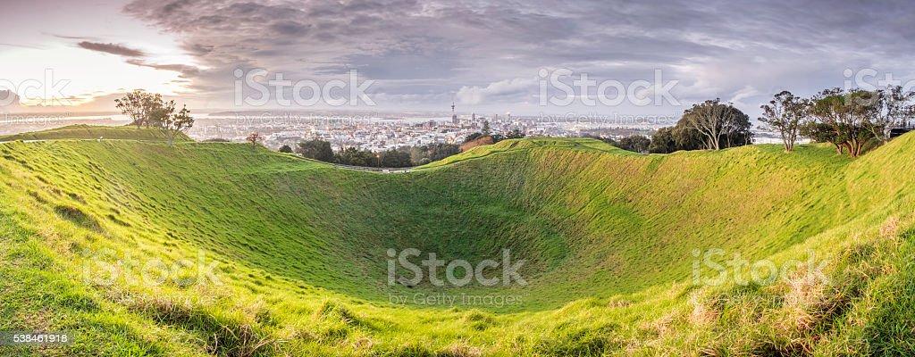 Mt Eden stock photo