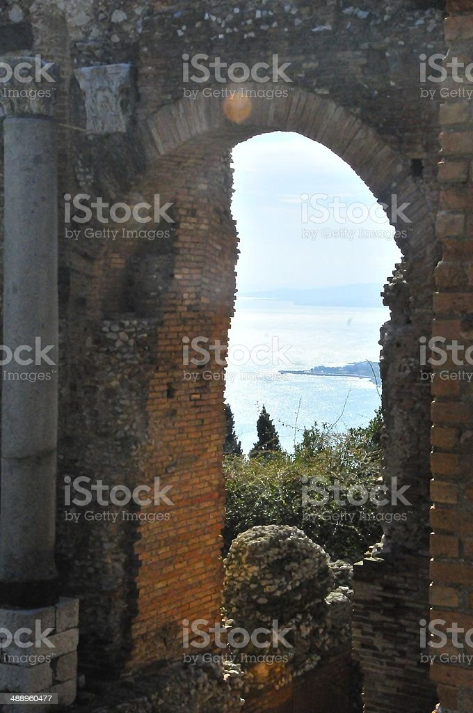 Mt Etna in Sicily, Italy stock photo