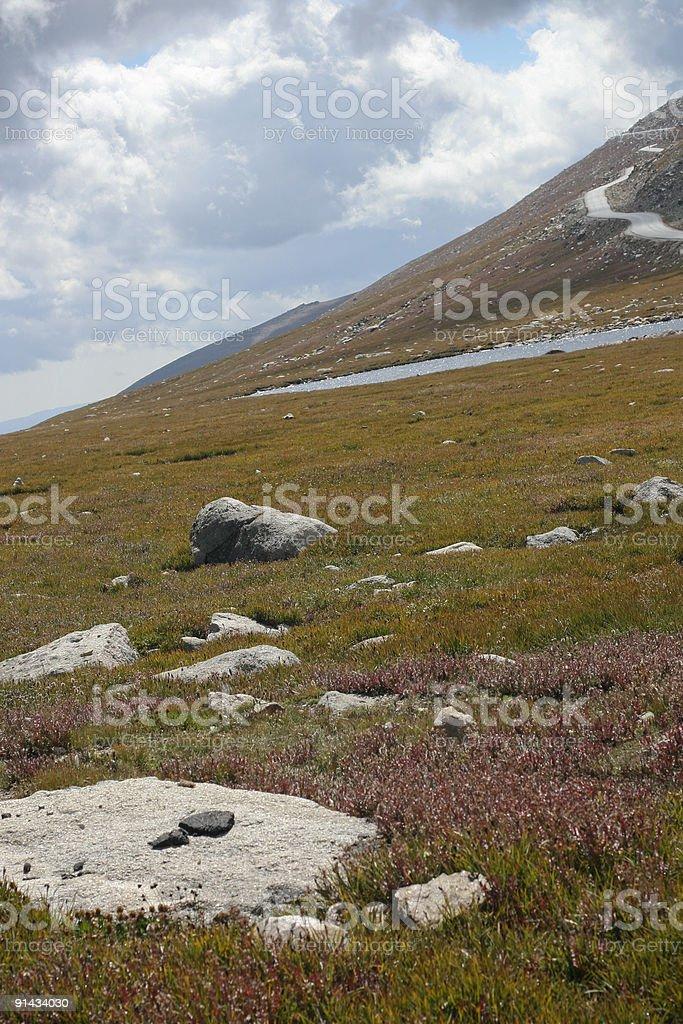 Mt. Evans stock photo