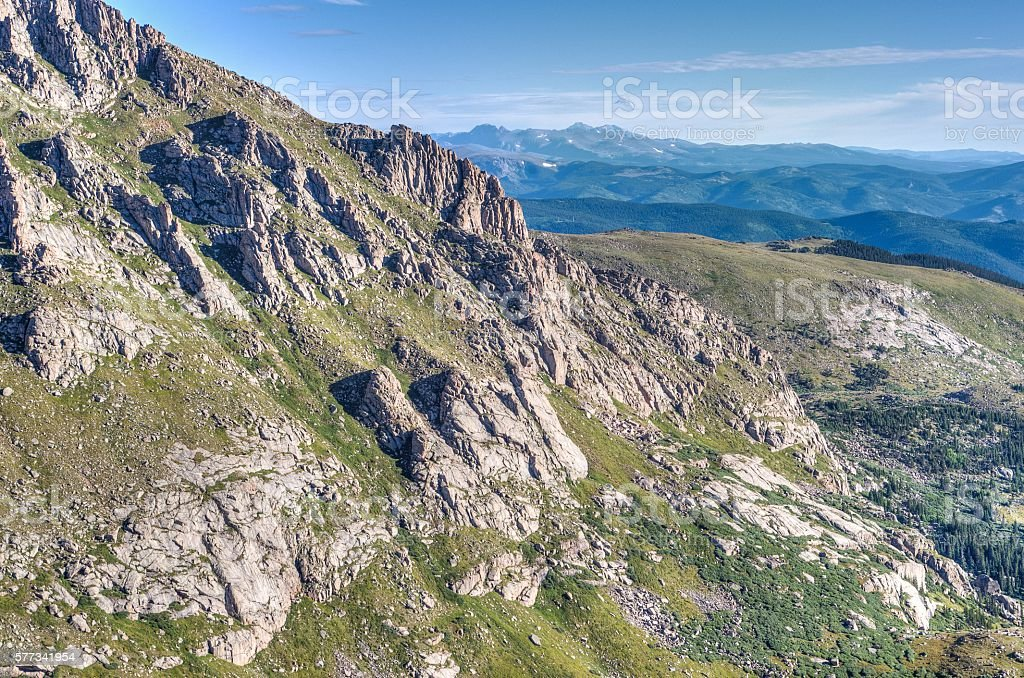 Mt Evans Wilderness Area stock photo