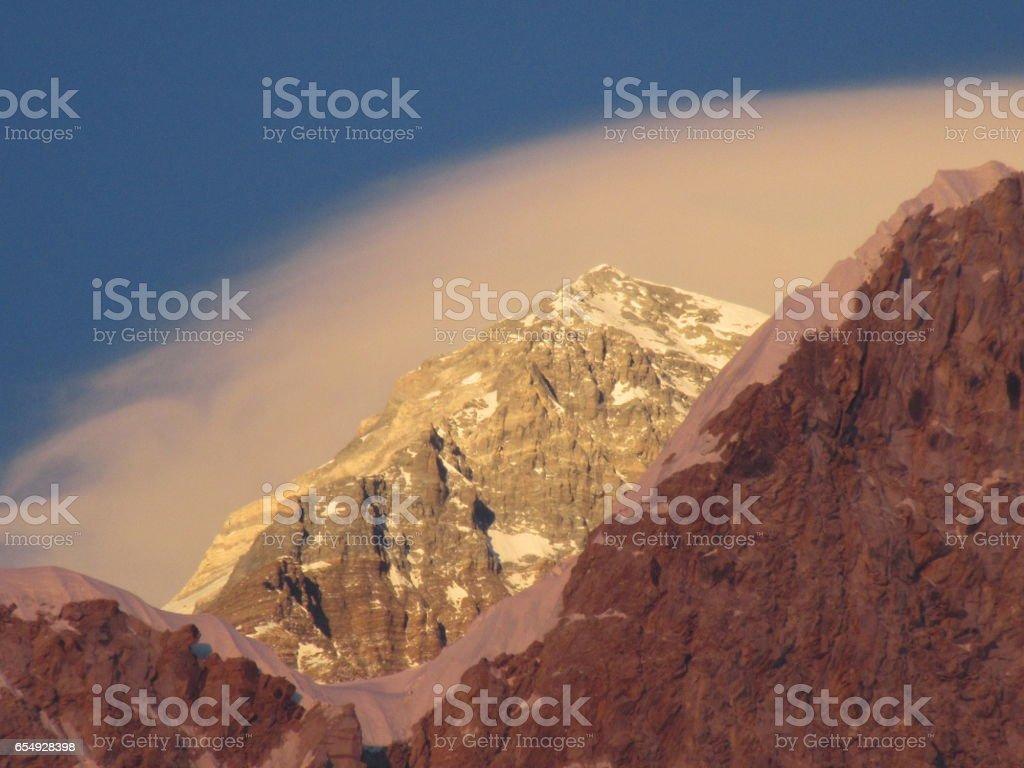 Mt Everest Base Camp Trek stock photo