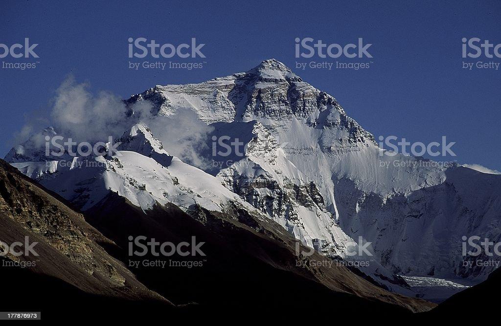 Mt. Everest stock photo