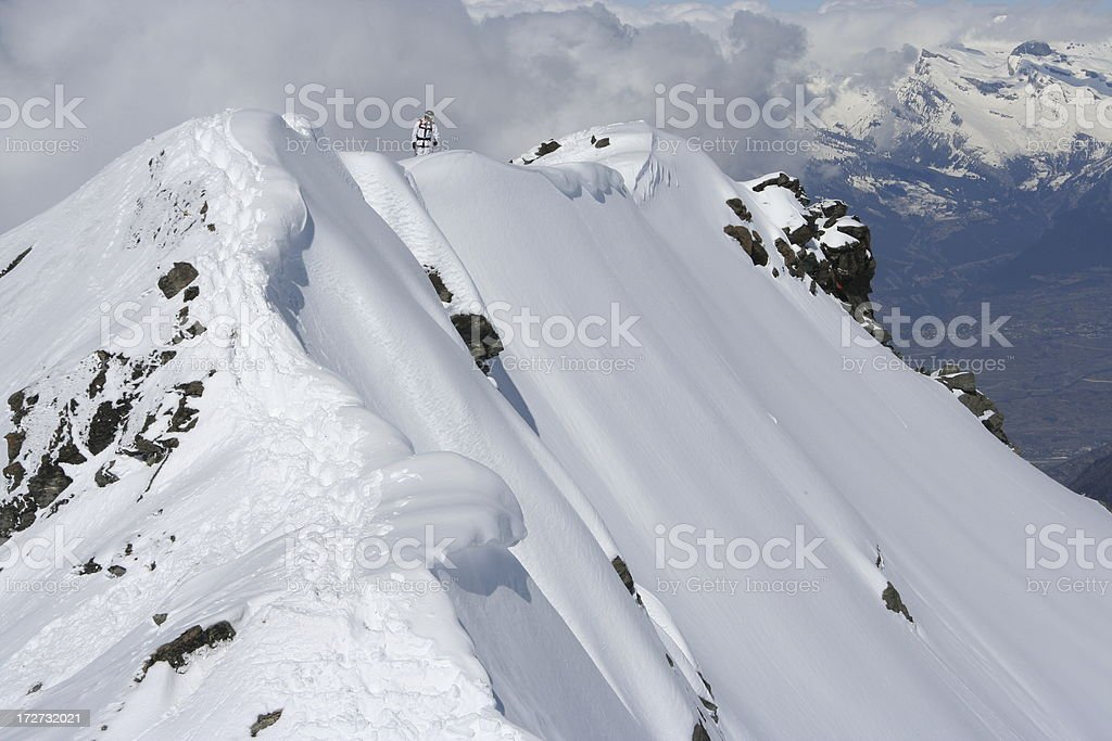 Mt. Fort royalty-free stock photo