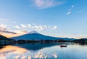 Mt. Fuji at Lake Kawaguchi - Japan